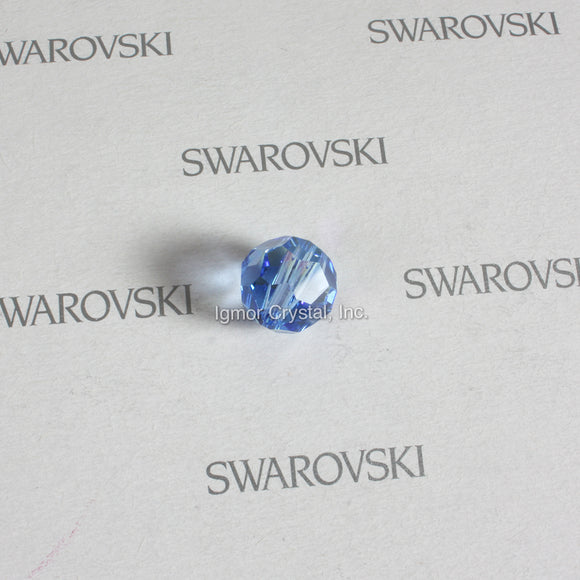 SWAROVSKI® STRASS 8502-10MM Faceted Crystal Bead *Medium Sapphire/AB* (52PCS)