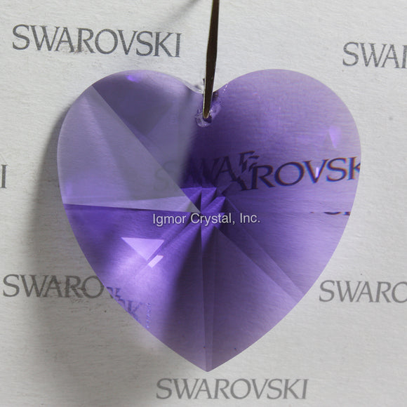 SWAROVSKI® STRASS 8781-40MM Heart Pendant *Blue Violet*