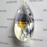 SWAROVSKI® STRASS 8721-63MM Pear Prism *Blue AB* (5PCS)