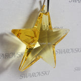 SWAROVSKI® STRASS 8815-40MM Star Pendant *Light Topaz* (6PCS)