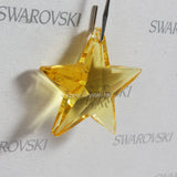 SWAROVSKI® STRASS 8815-28MM Star Pendant *Light Topaz* (10PCS)