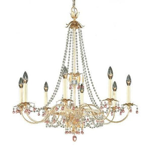 Schonbek 8-light Adagio Crystal Chandelier #5104-91SJ (SWWM)