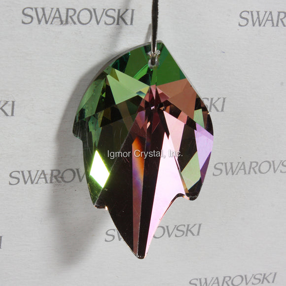 SWAROVSKI® STRASS 8805-45MM Leaf Pendant *Vitrail Light* (3PCS)