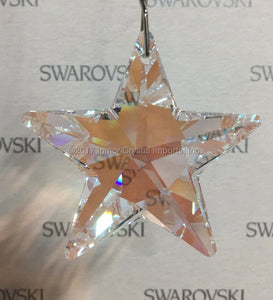 SWAROVSKI® STRASS 8815-40MM Star Pendant *Blue AB* (20PCS)
