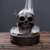 Immortality Skull Incense Burner Zen Incense