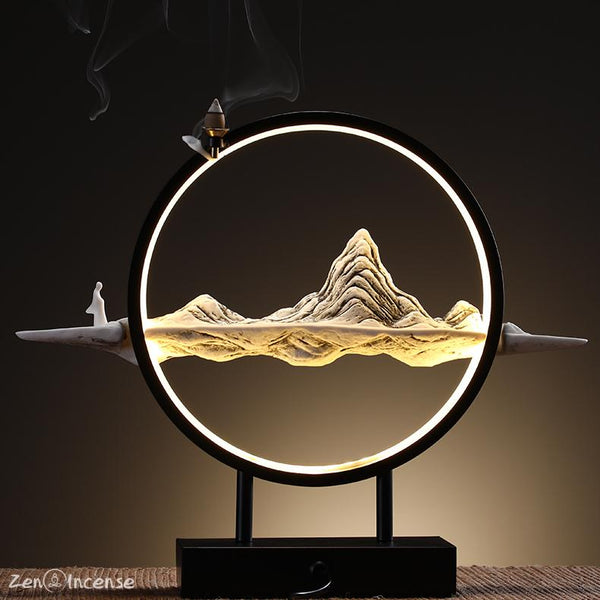 The Kunlun Mountain Incense Burner Zen-Incense LLC