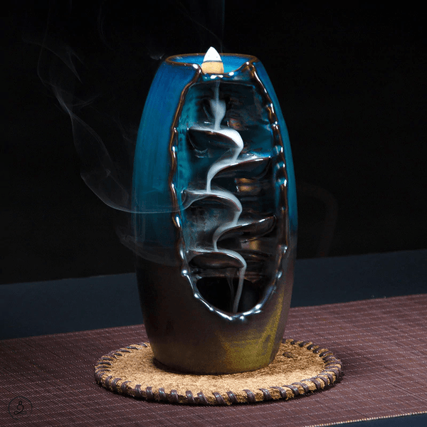 Eternal Falls Incense Burner Zen Incense