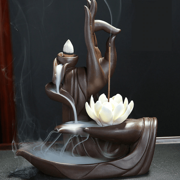 Shuni Mudra Zen Incense Flower