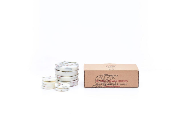 Soy Wax Rounds Ash-berries & Bilberry Leaves with Lavender Fragrance