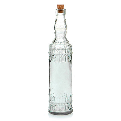 bottle clear recycled glass