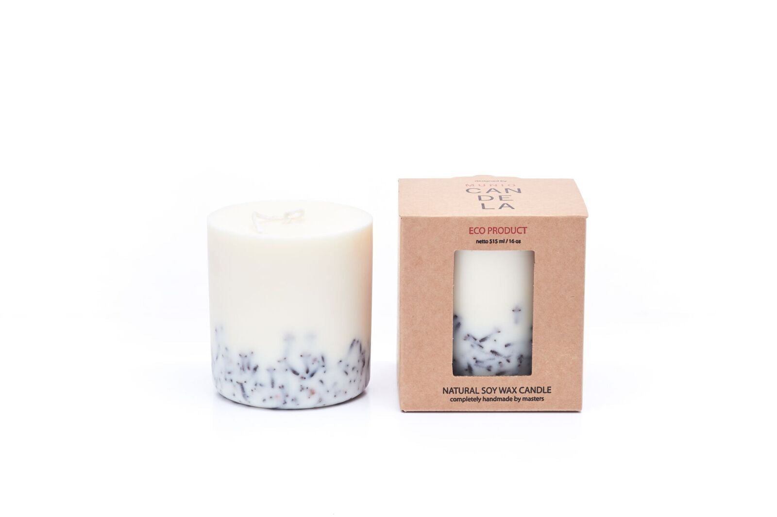 Candle with Cloves Munio Candela with packaging