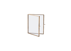 Folded Frame in Antique Brass - 8 x 10 cm