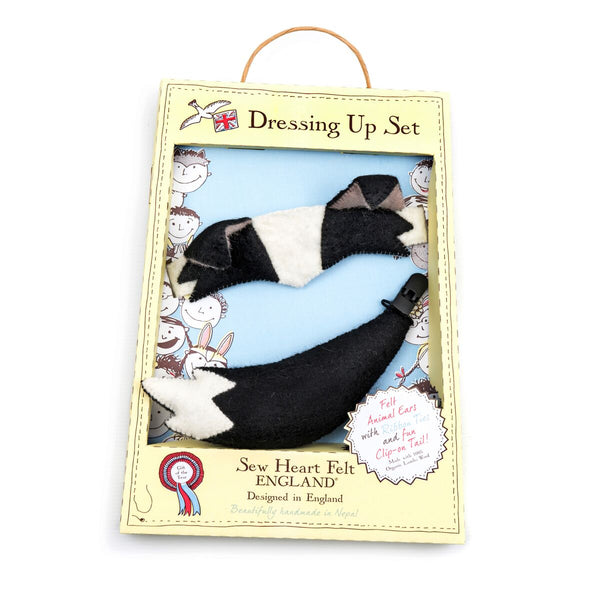 Dog Dressing Up Set Felt Sew Heart Felt