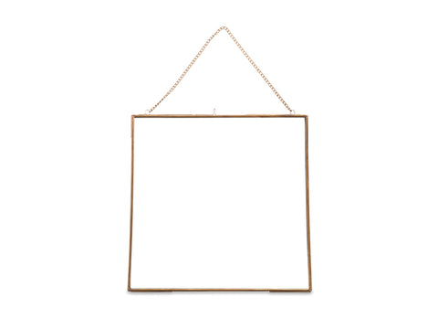 Frame in Antique Brass - 36 x 36 cm