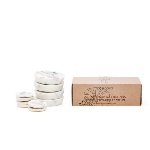 Soy Wax Rounds Heather met Heather Fragrance