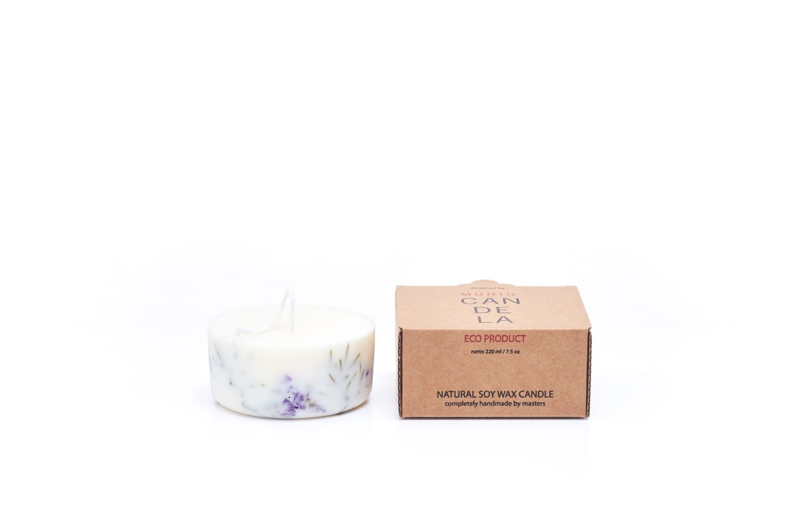 Mini Juniper & Limonium Candle with Juniper Fragrance