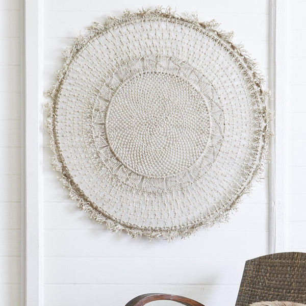 Mandala wall hanging - large