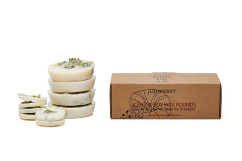 Soy Wax Rounds Moss with Moss Fragrance
