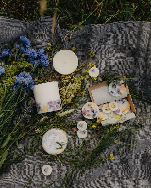 Wild Flowers Candle Munio Candela mood picture