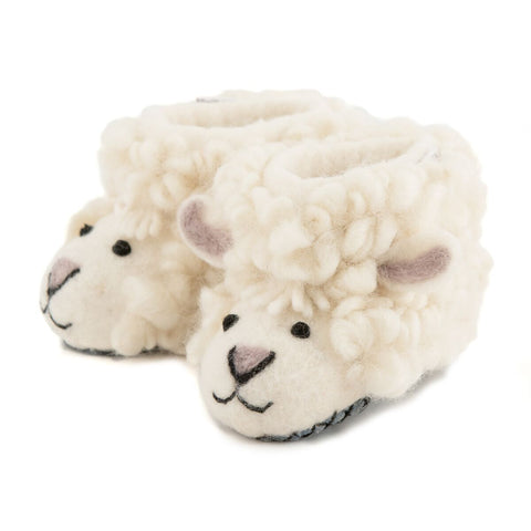 Shirley Sheep Slippers Sew Heart Felt