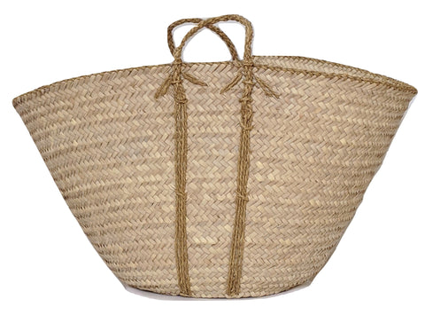 Robust Palm Leaf Basket