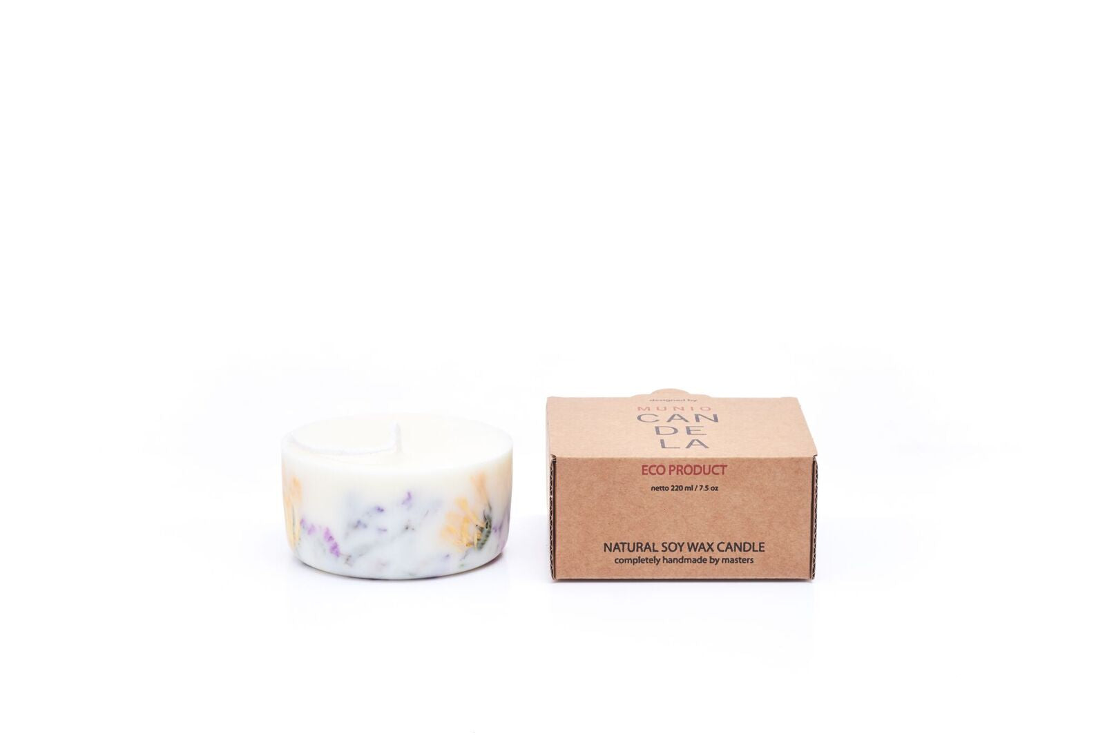 Mini Wild Flowers Candle with Rose Fragrance