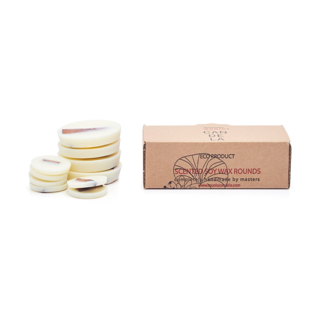 Soy Wax Rounds Cinnamon with Cinnamon Fragrance