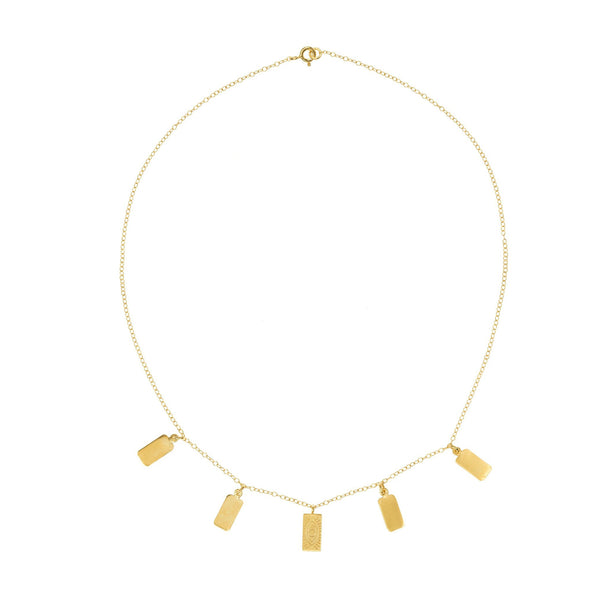 Karla Necklace Gold Plated