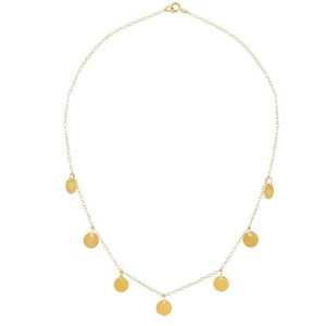 Kelly Necklace Gold Plated