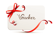 Load the image into the gallery viewer, piercinginspiration Gift certificate voucher with box