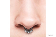 Load the image into the gallery viewer, 5 crystal piercing pendants piercinginspiration®