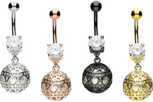 Upload the image to the gallery viewer, Ornament Crystal Navel Piercing piercinginspiration®