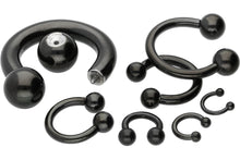Upload the picture to the gallery viewer, Horseshoe Ring Barbell Surgical Steel piercinginspiration®