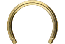 Upload the picture to the gallery viewer, titanium horseshoe ring barbell without bullets piercinginspiration®