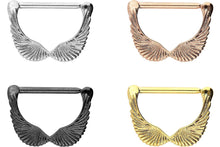 Upload the image to the gallery viewer, Wing Nipple Clicker Piercing piercinginspiration®