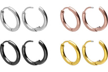 Load the picture into the gallery viewer, hoop clicker ring pair piercinginspiration®