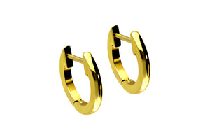Hoop earrings flat clicker ring pair piercinginspiration®