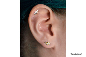 3 Mini Crystal Ear Piercing piercinginspiration®