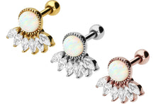 Upload the image to the gallery viewer, crystal opal ear piercing piercinginspiration®
