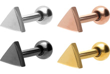 Load the image into the gallery viewer, triangle ear piercing piercinginspiration®