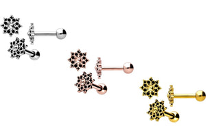 Oriental pointed ear piercing barbell piercinginspiration®