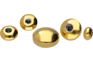 Screw disc flat surgical steel replacement ball piercinginspiration®