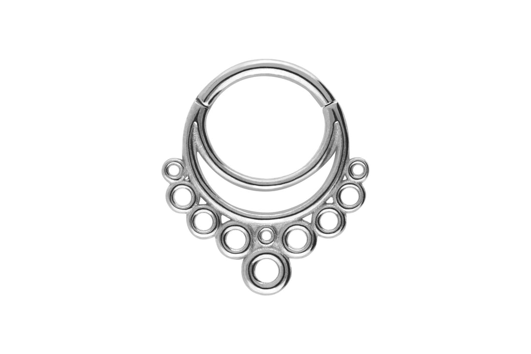 Clicker Doppel Ring Kreise piercinginspiration®