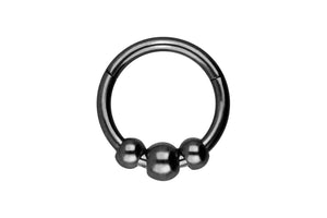 3 balls clicker ring piercinginspiration®