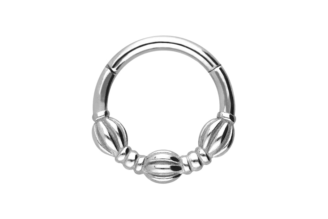 Clicker Ring Knoten piercinginspiration®