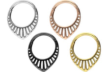 Upload the image to the gallery viewer, Amaya Clicker Ring piercinginspiration®