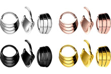Load the image into the gallery viewer, Triple Ring Clicker New Design piercinginspiration®