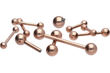 Load the image into the gallery viewer, Titanium internal thread Basic Barbell piercinginspiration®