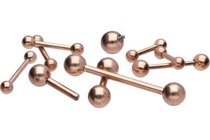 Titanium internal thread Basic Barbell piercinginspiration®