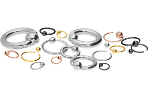Closed Ball Ring Surgical Steel piercinginspiration®